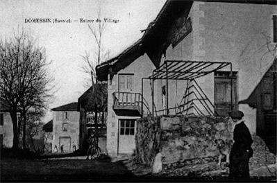 Village en 1924