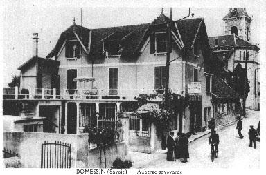 Auberge en 1947