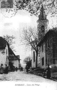 Centre du village en 1916