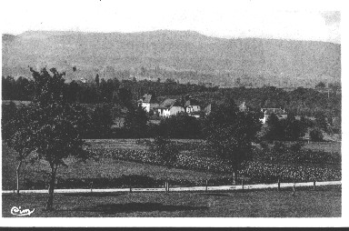 Vue du village