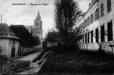 Eglise et école en 1909