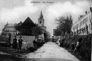 Rue principale en 1913