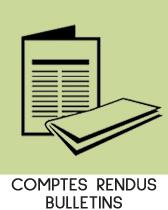 bloc Comptes rendus et bulletins